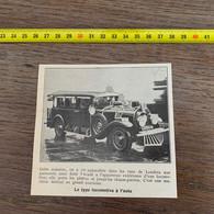 1929 PATI2 Type Locomotive à L Auto - Non Classificati