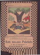 """Protège-cahier Illustré  """" Aux 100.000 Paletots """" Vêtements à Caudry - Other"""