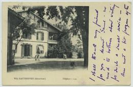 (Gérardmer) Villa Kattendyke. A La Comtesse Michel De Pierredon, Chevalier De Malte. - Gerardmer