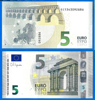 France 5 Euro 2013 UNC NEUF Signature Christine Lagarde Prefixe EC Serie E001 D6 Billet Oberthur Paypal Bitcoin OK - 5 Euro
