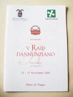 V°   RAID    DANNUNZIANO    SETTEMBRE    2005 - Motori