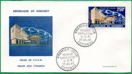 DAHOMEY - BENIN - FDC - Réunion Des Chefs D'états - 1963 - Benin – Dahomey (1960-...)