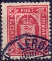 DENEMARKEN Dienstzegel 1875-23 8öre Perf 12½ GB-USED - Dienstzegels