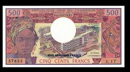 # # # Banknote Kamerun (Cameroun) 500 Francs UNC 1983 # # # - Cameroon