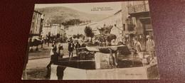 Ancienne Carte Postale  - Le Vigan - Fontaine Monumentale - Le Vigan