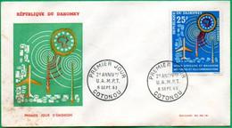 DAHOMEY - BENIN - FDC - Union Africaine Et Malgache - 1963 - Benin – Dahomey (1960-...)