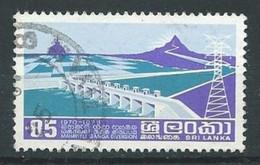 Sri Lanka YT N°465 Barage Wahaweli Oblitéré ° - Sri Lanka (Ceylon) (1948-...)
