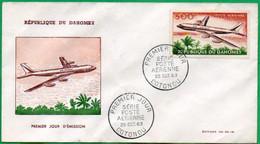 DAHOMEY - BENIN - FDC - Série Poste Aérienne - 1963 - Benin – Dahomey (1960-...)