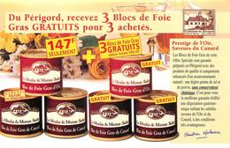 Publicités - Publicité Traditions Du Périgord - Foie Gras - Le Moulin De Moreau - Sarlat - Bon état - Publicidad