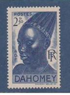 DAHOMEY       N°  YVERT   137  NEUF AVEC CHARNIERES      (CHAR   01/43 ) - Nuovi