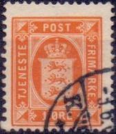 DENEMARKEN Dienstzegel 1875-23 1öre Perf 12½ GB-USED - Dienstzegels