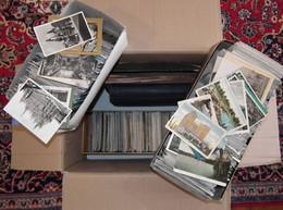 Umfangreicher Bestand Ansichtskarten Aus Aller Welt Im Umzugskarton (17,7 Kg) - 500 Postcards Min.