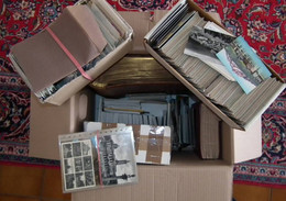 Umfangreicher Bestand Ansichtskarten Aus Aller Welt Im Umzugskarton (20,,6 Kg) - 500 Postcards Min.