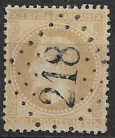 TP28,obl.GC218,Audruicq(PAS DE CALAIS),ind.4 - 1849-1876: Periodo Clásico
