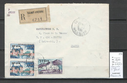 Reunion - Lettre Recommandée  SAINT PIERRE -1964 - Covers & Documents