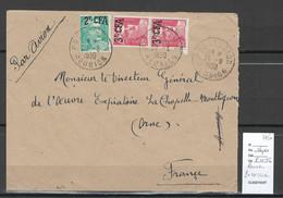 Reunion - Lettre POSSESSION - 1950 - Covers & Documents
