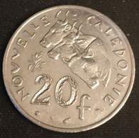 NOUVELLE CALEDONIE - 20 FRANCS 1986 - Avec IEOM - KM 12 - Zébu - Nouvelle-Calédonie