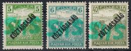 Belatinc Beltinci 1919 Hungary Slovenia Croatia SHS Occupation Yugoslavia Local Provisory Overprint HARVESTER Republic - Unused Stamps