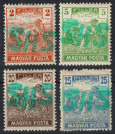 Belatinc Beltinci 1919 Hungary Slovenia Croatia SHS Occupation Yugoslavia Local Provisory Overprint HARVESTER POSTA - Unused Stamps