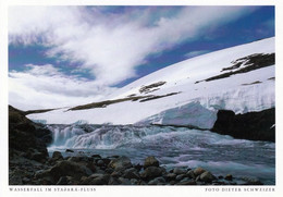 1 AK Island / Iceland * Ein Wasserfall Im Stadara-Fluß * - Iceland