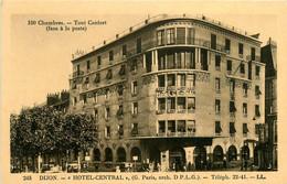 Dijon * Devanture Façade Hôtel Central - Dijon