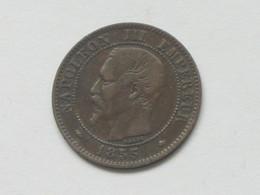 2 Centimes 1855 BB  Napoléon III Tête Nue  ***** EN ACHAT IMMEDIAT **** (4) - B. 2 Centimes