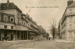 Dijon * La Gare Des Tramways Tram * Boulevard Sévigné - Dijon