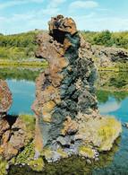 1 AK Island / Iceland * Lavaformationen Am See Mývatn - Dieser See Liegt Im Norden Von Island * - Iceland