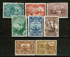 Madeira, 1898, # 33/40, MNG And Used - Madeira