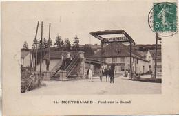 25 MONTBELIARD  Pont Sur Le Canal - Montbéliard