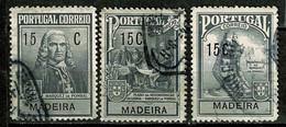 Madeira, 1925, # 1/3, Imp. Postal, Used - Madeira