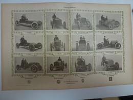 Coupe Gordon Bennett 1903 Equipes Automobile Mercédès Levassor Napier Peerless Winton - Unclassified