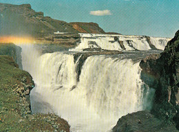1 AK Island / Iceland * Der Gullfoss - Gehört Zum Goldenen Ring - Golden Circle - Er Steht Seit 1979 Unter Naturschutz * - Iceland