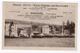 69 RHONE - TARARE Environs, Grand Hôtel St-Pierre Les Sauvages - Tarare