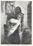 GRAVURE De 1884.. La Boite Aux Lettres.. Tableau De M. LOBRICHON - Prints & Engravings