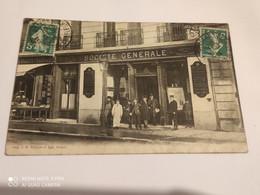Ancienne Carte Postale Publicitaire Deventure Banque Societe Generale - Otros