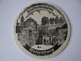 Bierdeckel - Klosterbrauerei Weltenburg, Brauerei Bischofshof, Bayern - Sous-bocks
