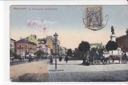 Cpa Old Pc Pologne Varsovie Warszawa Krakowskie Przedmiescie - Polen