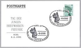 PERROS - DOGS - CHIENS. ZWERGSCHNAWZER - SCHNAWZER MINIATURA. Kiel 1995 - Dogs