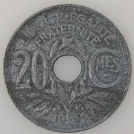France, Lindauer , 20 Centimes 1946 B, TB, KM#907.2 - E. 20 Centimes