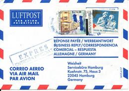 Honduras Air Mail Cover Sent To Germany 31-5-2002 - Honduras