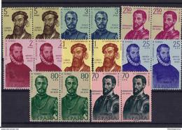 ESPAÑA ** 1298/305 Nuevo Sin Charnela. Cat.16,50 € - 1951-60 Unused Stamps