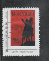 FRANCE ISSU COLLECTOR NAPOLEON MONTEREAU L ULTIME BATAILLE 1814 - 2014 OBLITERE - Collectors