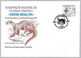 NUTRIA (Lutra Lutra). Vila Nova De Santo Andre, Portugal, 1994 - Unclassified