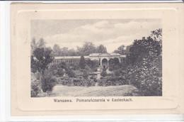 Cpa Old Pc Pologne Varsovie Warszawa Pomaranczrnia - Pologne