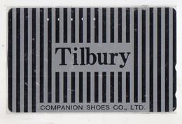 TELECARTE JAPON MODE TILBURY - Moda