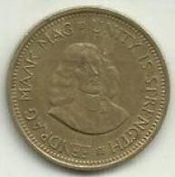 E-1/2 Cent 1962 Africa Do Sul - South Africa