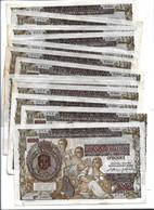 LOT 13 PIECES - SERBIA 1000 DINARA 1941. XF - NO TEARS, NO PEN MARKS, NO HOLES - Yugoslavia