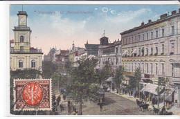 Cpa Old Pc Pologne Varsovie Warszawa Marszatkowska - Polonia
