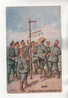 +4455, WK I, Feldpost, - Guerre 1914-18